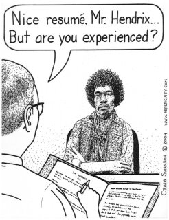 Hendrix Cartoon