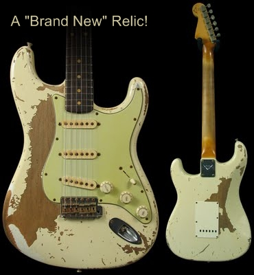 Strat Guitar Relic