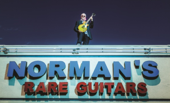 Normans Rare Guitars in Tarzana, California