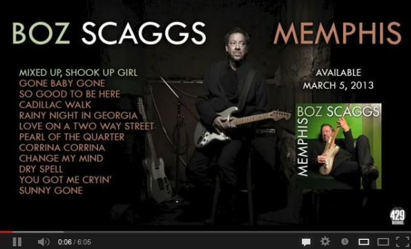 Boz Scaggs - Memphis - Full CD Preview