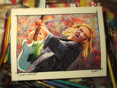 Tom Noll's Sketch of Joe Walsh